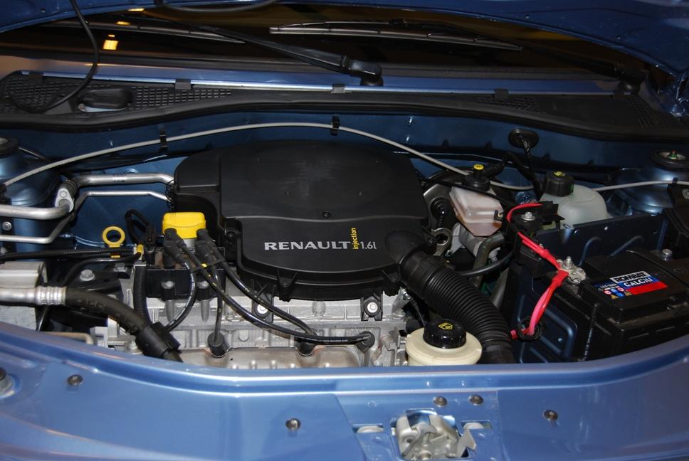 16 клапанный двигатель на семи местной Лада Ларгус