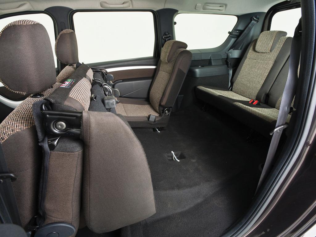 Салон автомобиля функциональный и просторный