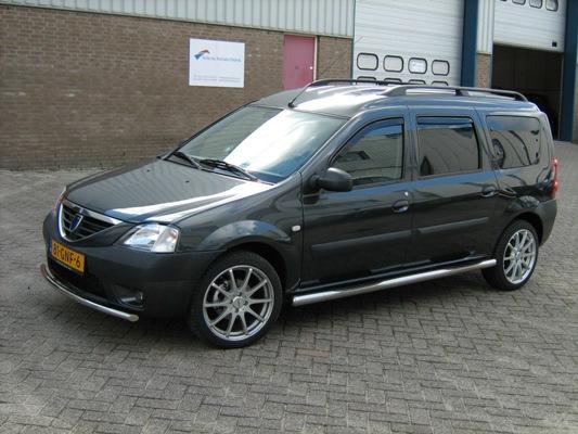 Пример внешнего тюнинга аналогичной Dacia MCV