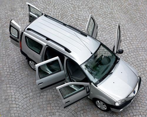 Dacia Logan MCV  - взят за основу новой Лада Ларгус