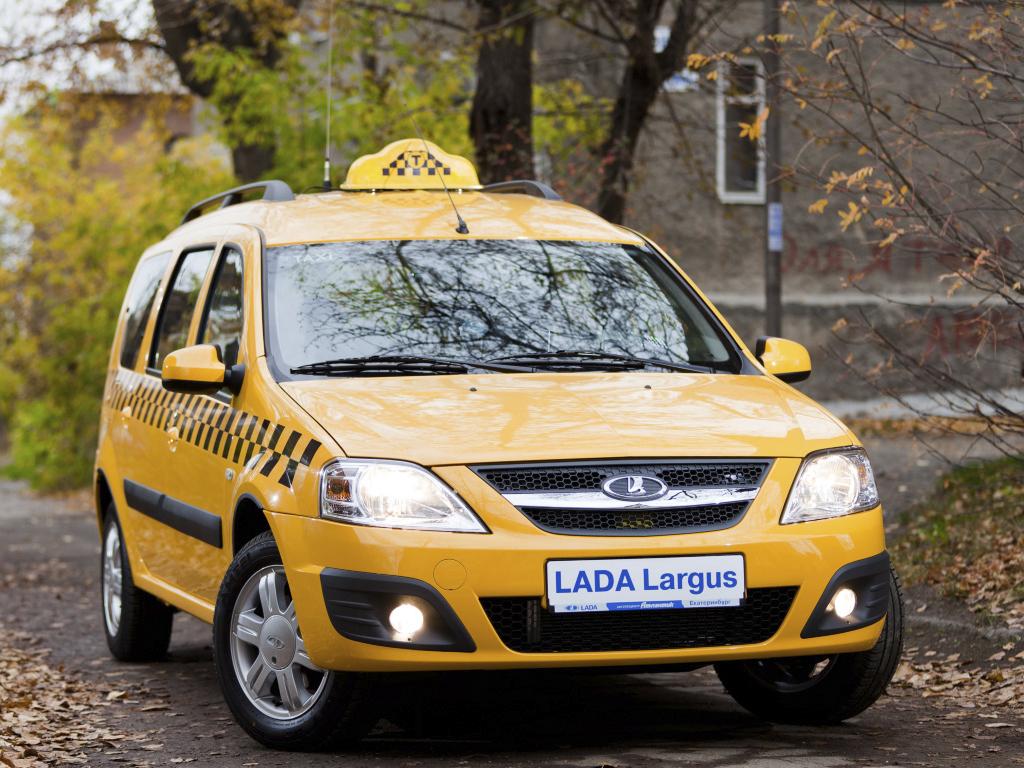 Новая Лада Ларгус - в модификации такси