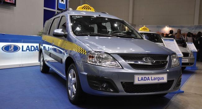 Лада Ларгус в комплектации такси - станет очень популярной на рынке