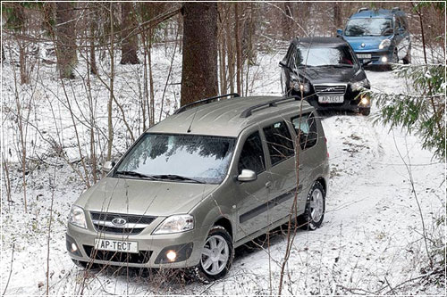 Для автомобилей был подготовлен серьезный тест-драйв