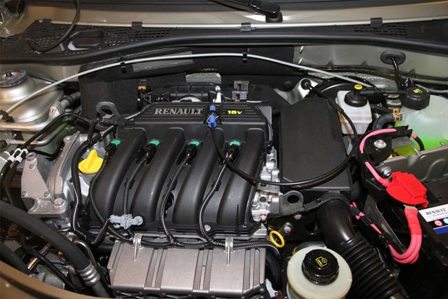 16-клапанный двигатель предает автомобилю хорошую динамику