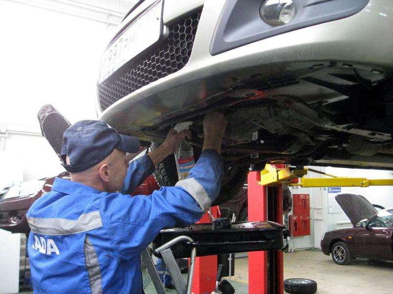 Стоимость обслуживания Ларгуса будет такая, как и других автомобилей Лада