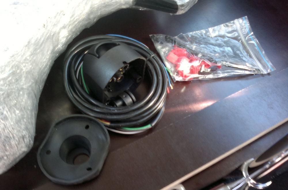 Подключение проводки на фаркоп